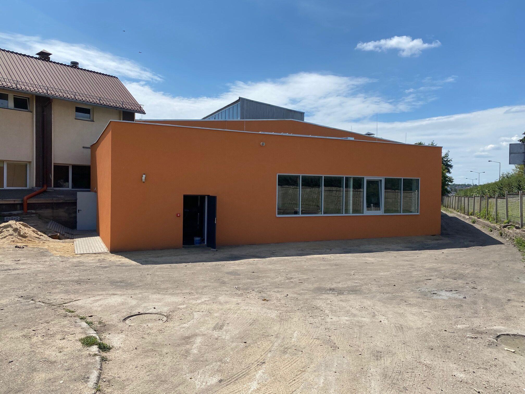 Przebudowa z rozbudową  budynku piecowni  znajdującego się na terenie  zakładu nr. 1